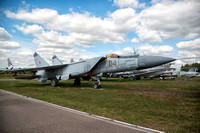 Mikoyan MiG-25PD 04 Red