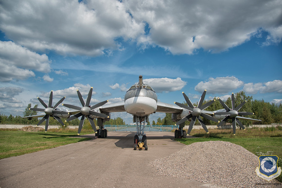 Tupolev Tu-95MS 31 Red